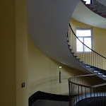 Familistère : aile droite, escalier