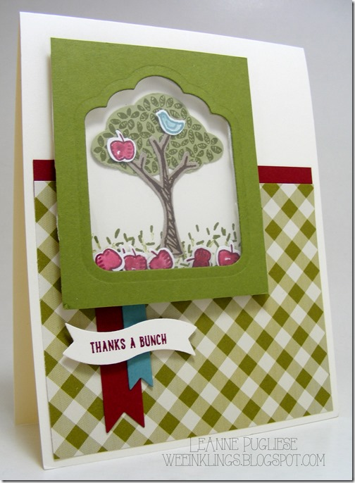 LeAnne Pugliese WeeInklings Sprinkles of Life Shaker Card Stampin Up
