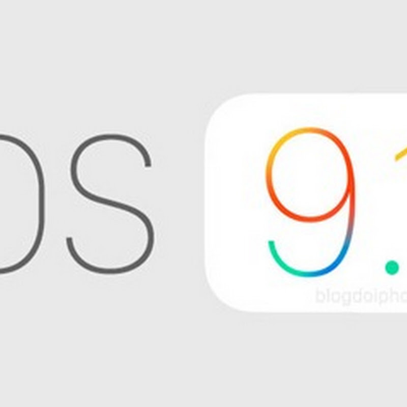 Apple libera para todos a versão final do iOS 9.1