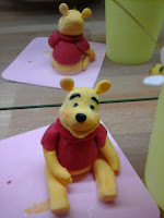 Winnie L'ourson en pâte à sucre