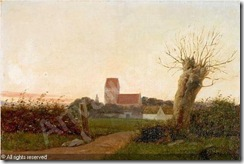 ring-laurits-andersen-1854-193-landskab-ved-aftentide-med-lan-2243276