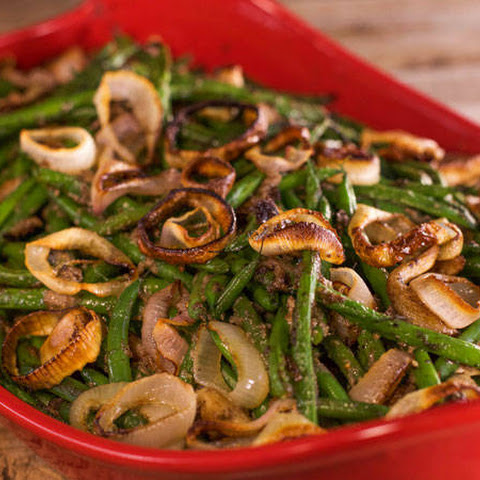 Graham Elliot's Healthy Green Bean Casserole