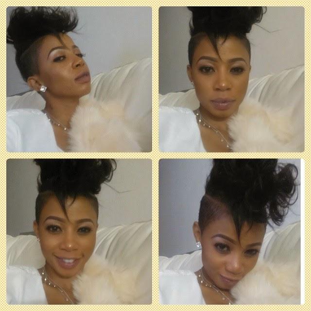 Kelly Khumlo loves her hair do