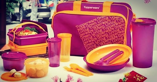 tupperware menjadi pilihan utama ibu - ibu urban di Indonesia