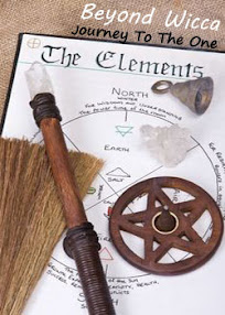 Cover of Anonymous's Book Beyond Wicca Journey To The One The Elements