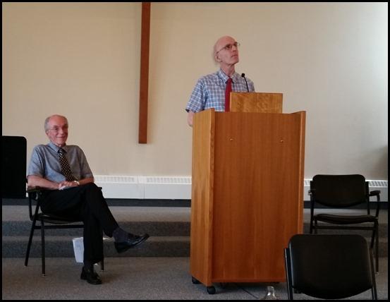 Gary McDonald and Rod Downing