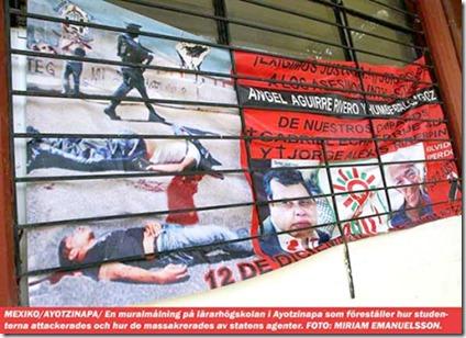 Mural Ayotzinapa