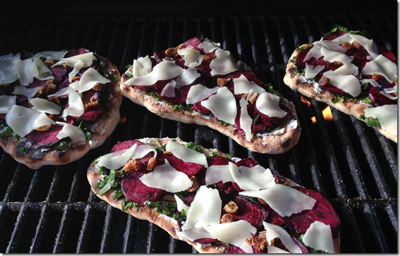 Grilled Beet and Goat Cheese Pizza | Photo | The Lisa Porter Collection