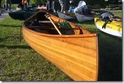 Dismal Swamp Hand Made Canoe