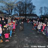 Sinterklaasfeest 2015 op obs de Linde Nieuwe Pekela - Foto's Harry Wolterman