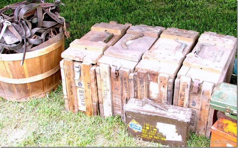 Antique Ammo Boxes