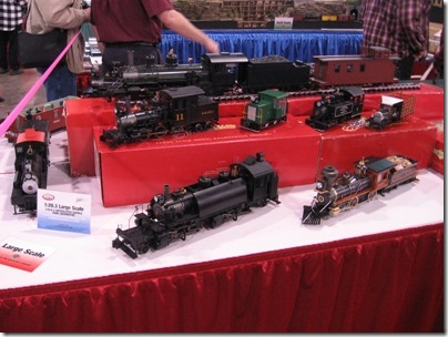 IMG_0693 Bachmann Large Scale Locomotives at the WGH Show in Puyallup, Washington on November 21, 2009