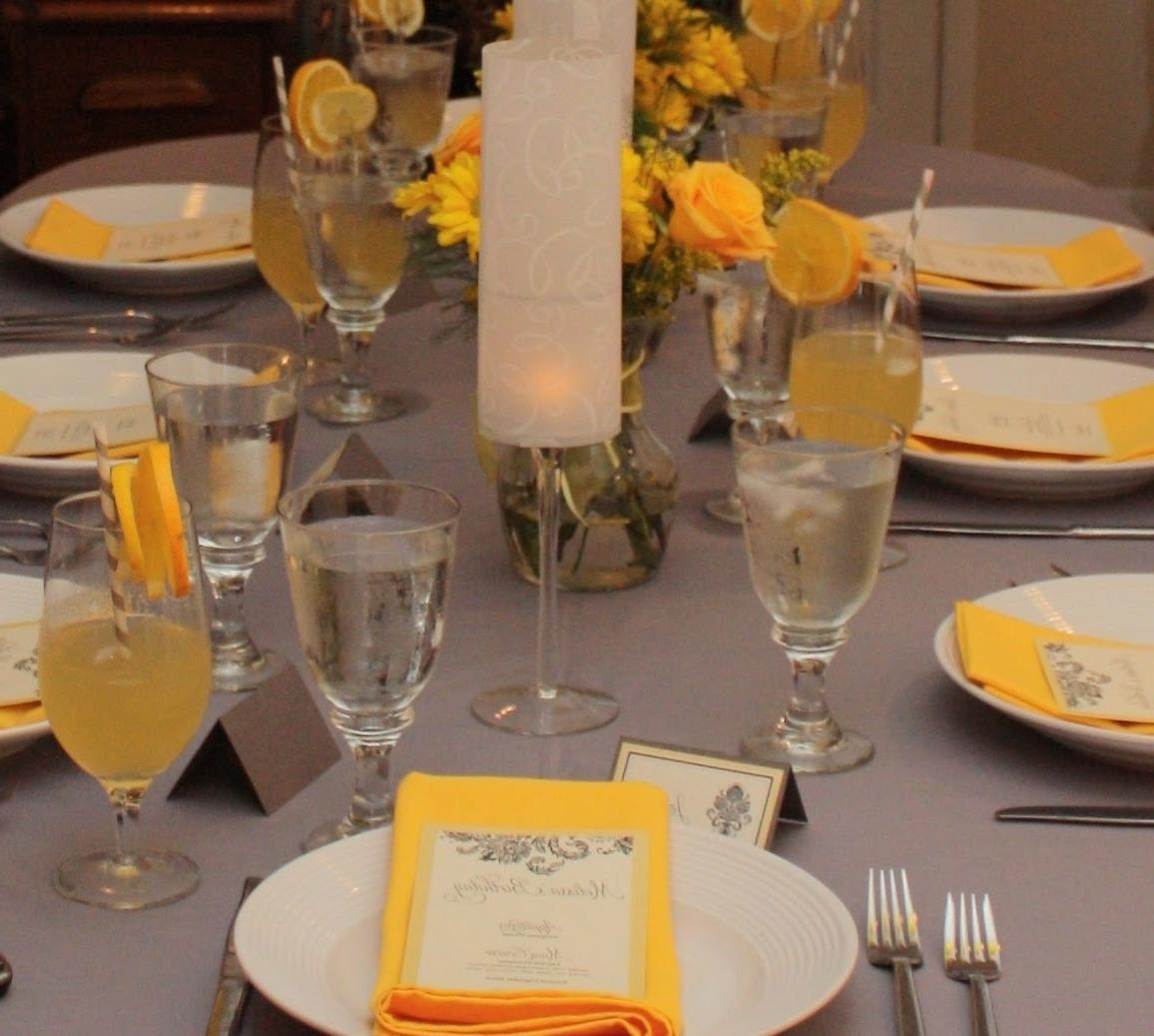 gray wedding color schemes