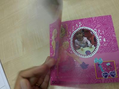 6X6 MINI SOFTBOOK SOFTCOVER PHOTOBOOK BARBIE UNTUK DHIA SUDAH SIAP DARI www.photobook.com.my