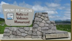 mt st helens sign