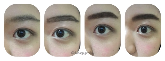Eyebrow tutorial Holika Holika Eyebrow Pencil