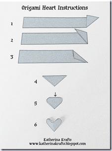 Origami-corazon