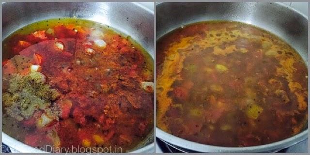 Agathi Keerai Kuzhambu Recipe 5