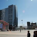 Widok z głównego placu na S-E
