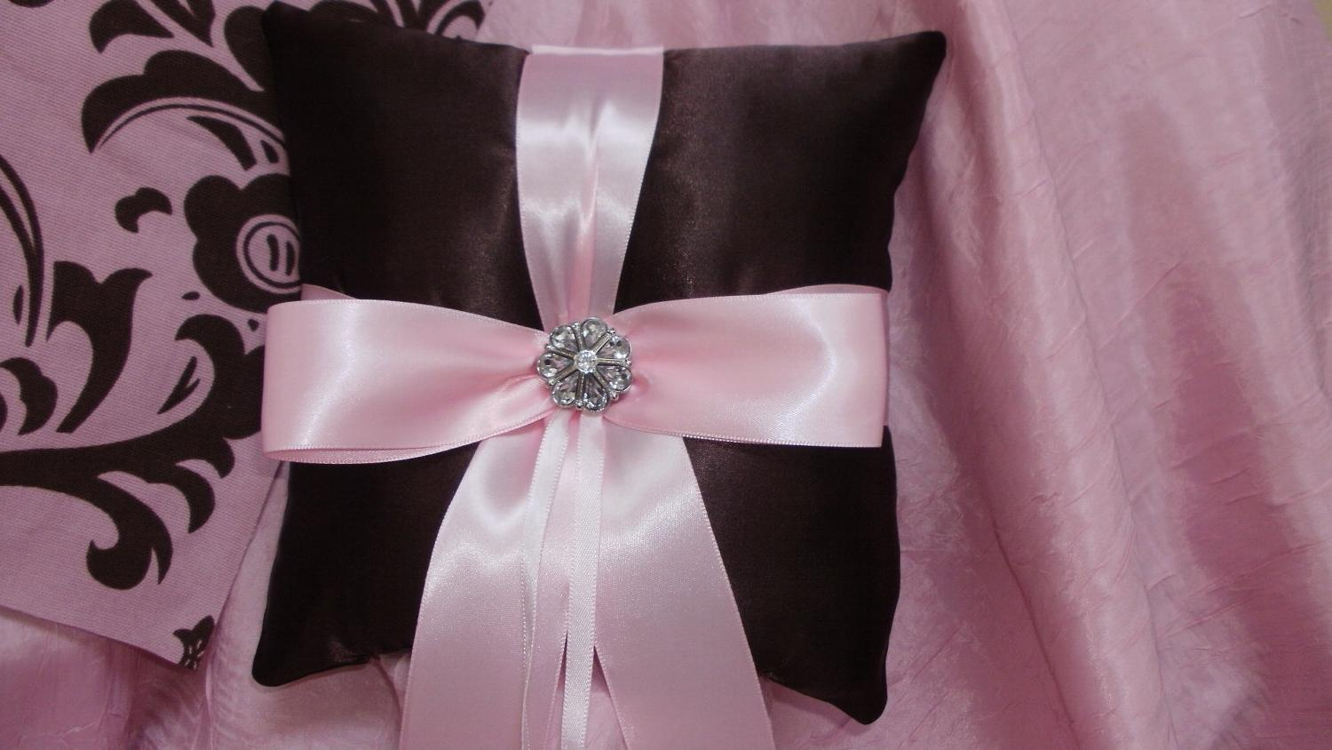 RING PILLOW CHOCOLATE Brown
