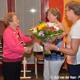 5 dames in 't zonnetje bij Shanty Pluskoren - Foto's Abel van der Veen
