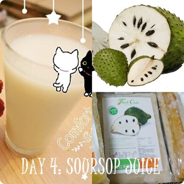 Fresh Code Soursop juice