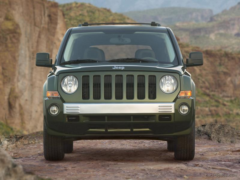 2008 jeep patriot suv specifications pictures prices. Black Bedroom Furniture Sets. Home Design Ideas
