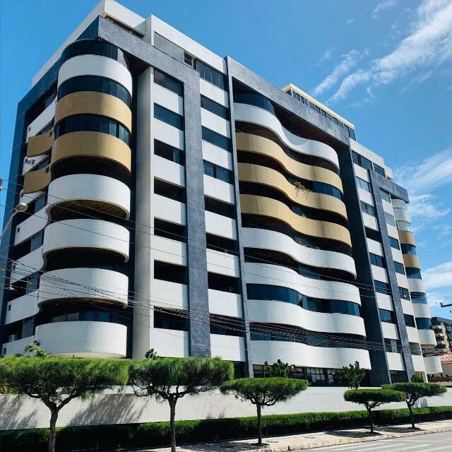 Apartamento com 3 dormitórios + DCE à venda, 152 m² por R$ 685.000 - Intermares - Cabedelo/PB