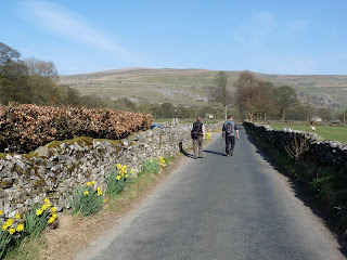 The road back to Buckden
