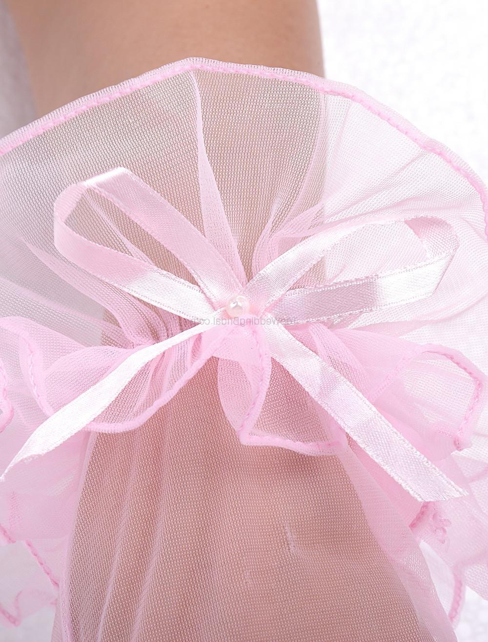 Bow Wedding Short Gloves