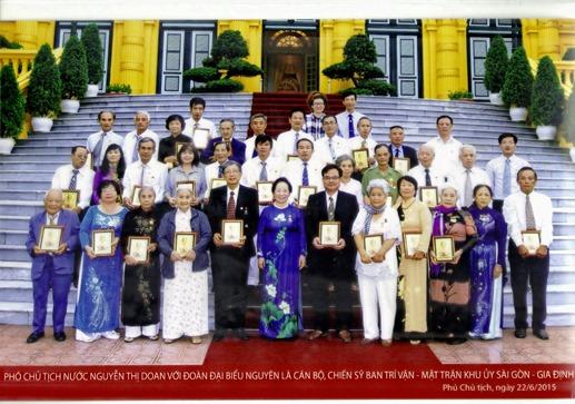 Phó Chủ Tịch Nước Nguyễn Thị Doan  BTV  2