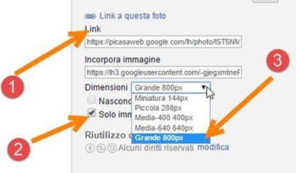 link-immagini-picasa