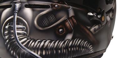 шлем Адриана Сутиля для Гран-при США 2014