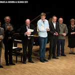 58: Entrega de Premios del 3er Concurso Internacional de Guitarra Alhambra 2015, en el Palau de la Música de Valencia.