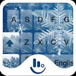 Snowflake Keyboard Theme Icon