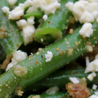 Green Beans and Shallots - Jacques Pepin recipe slightly adapted