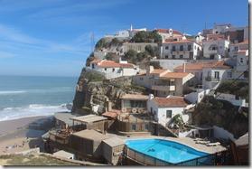 En ce dimanche, randonnée à Azenhas do Mar, sur la côte ouest de Lisbonne.