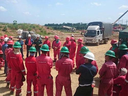 Trabajadores de Halliburton adelantan cese de actividades