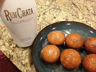 How to make rum chata cupcakes.