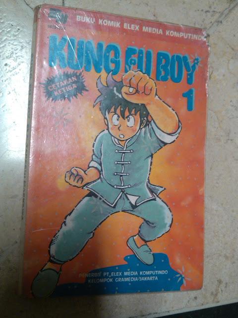 Komik Kung Fu Boy seri 1-21