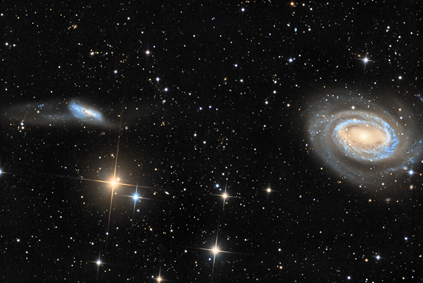 Arp 159 e NGC 4725