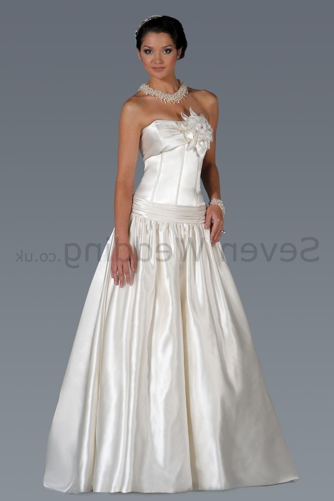 Satin Ball Gown Sweetheart