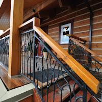 Metal railing by Mike Mintern