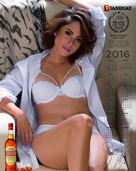 Jessy Mendiola is Tanduay Calendar Girl 2016