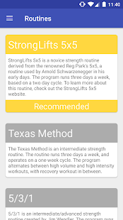 Press Strength Lifting LITE - screenshot
