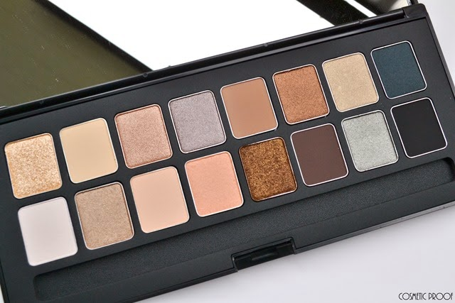 shu uemura 16 shades of nude eyeshadow palette swatches review (2)