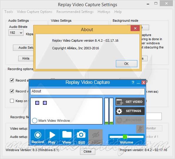 Replay Video Capture 8.4.2