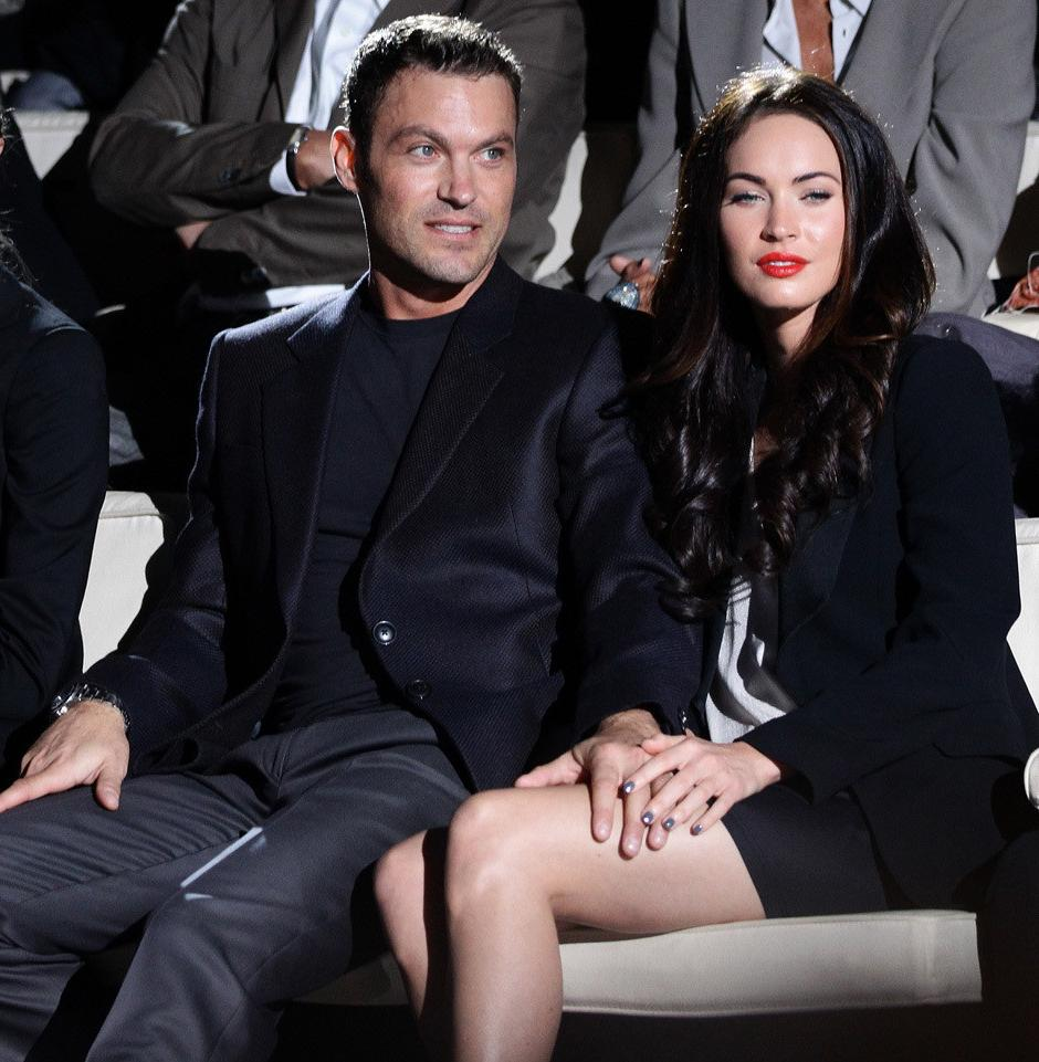 At Armani With Megan Fox