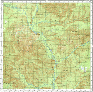 Map 100k--l54-001--(1981)