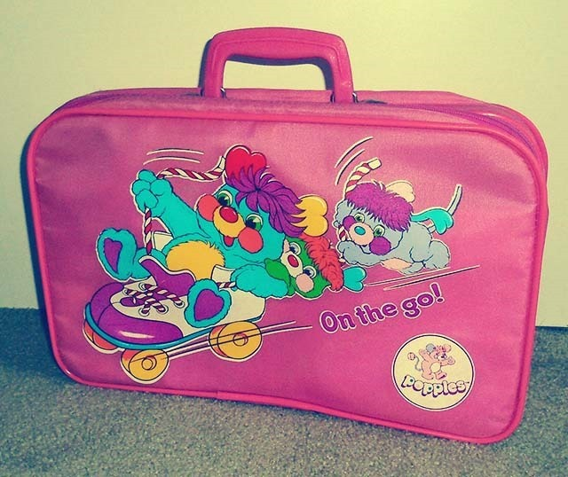 Popples Lunch Bag Front Side